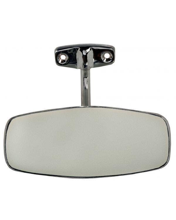 Interior Rear View Mirror finished in Chrome