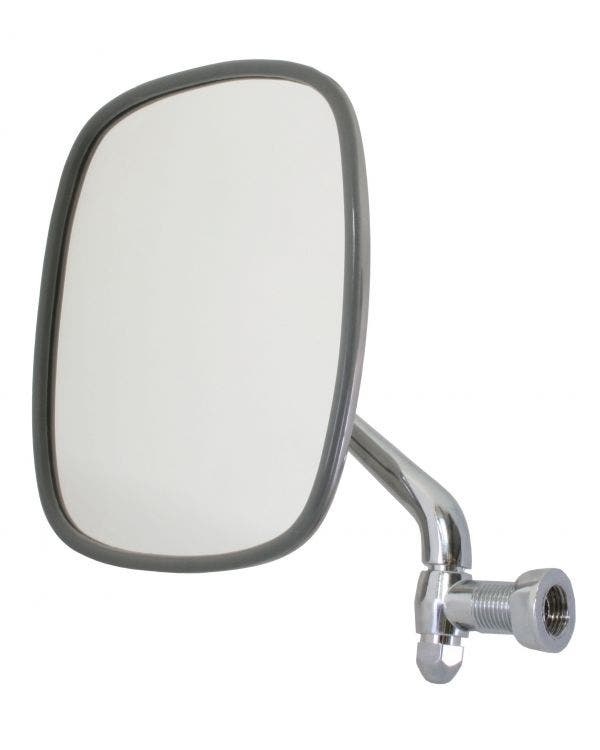 Wing Mirror with Chrome Plated Arm and Stainless Steel Head Left