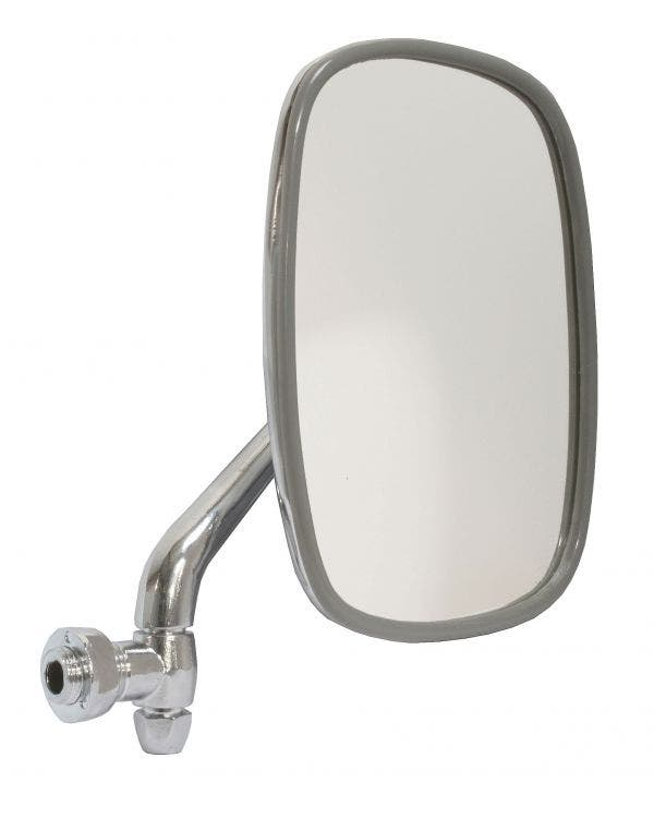 Wing Mirror with Chrome Plated Arm and Head Right