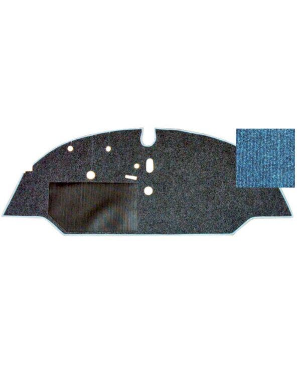 Cab Floor Carpet for Left Hand Drive Blue