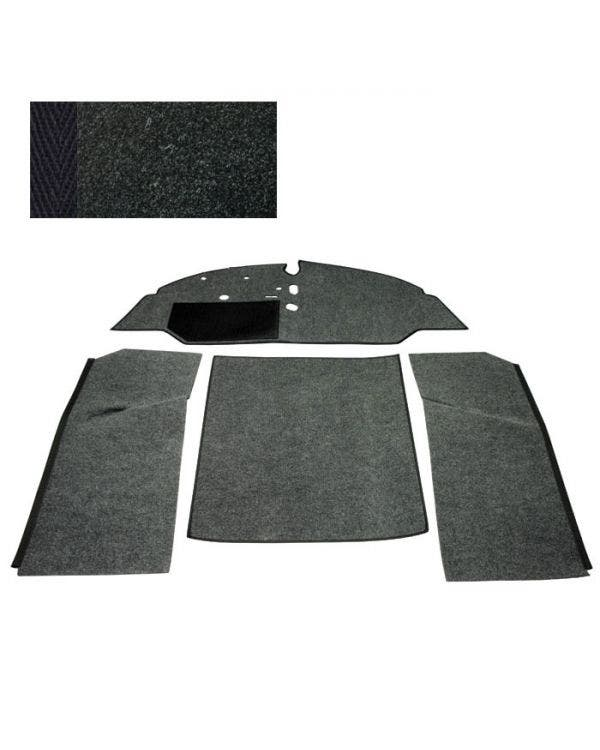 Carpet Set for Left Hand Drive Bench Black