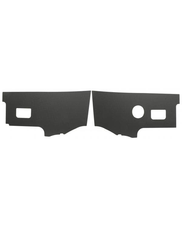 Black Plastic Interior Kick Panels for Right Hand Drive