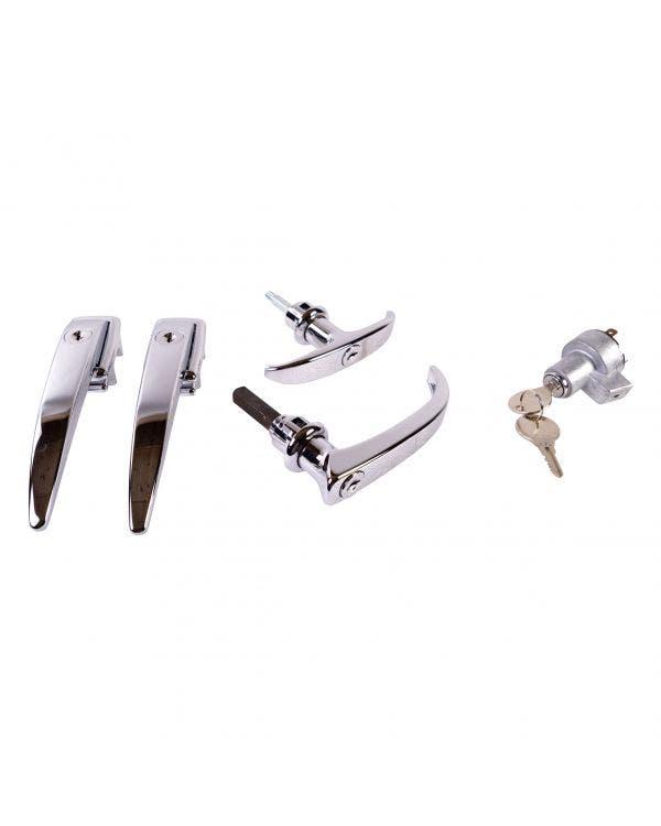 Türgriffe, gleichschließend, Zündung, T-Griff und Türen