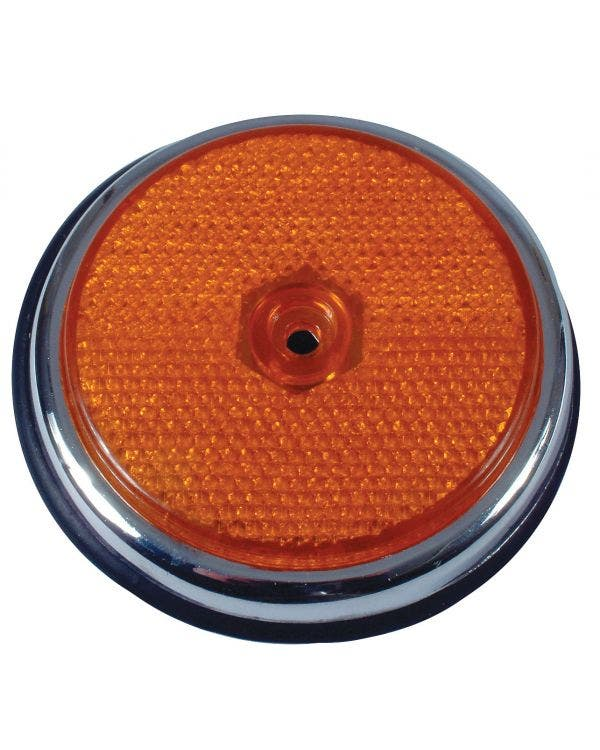 USA Specification Reflector in Amber