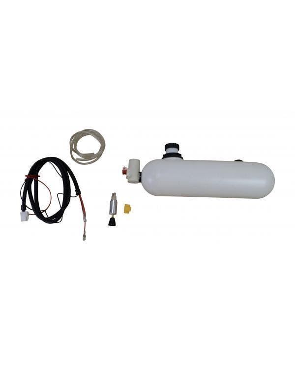 Washer Bottle and Pump 12 Volt Complete Kit