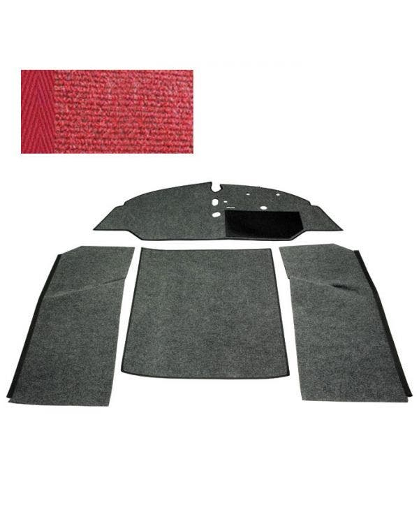 Carpet Set for Right Hand Drive Bench Red