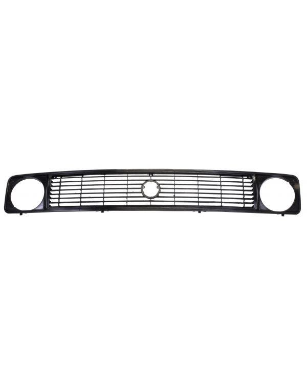 Upper Front Grille for Single Round Headlights
