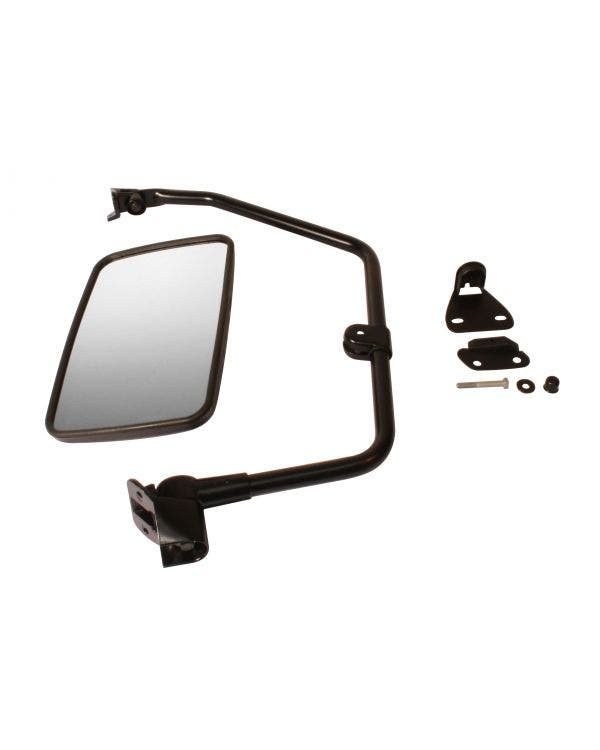 Truck Style Door Mirror with Convex Glass Left