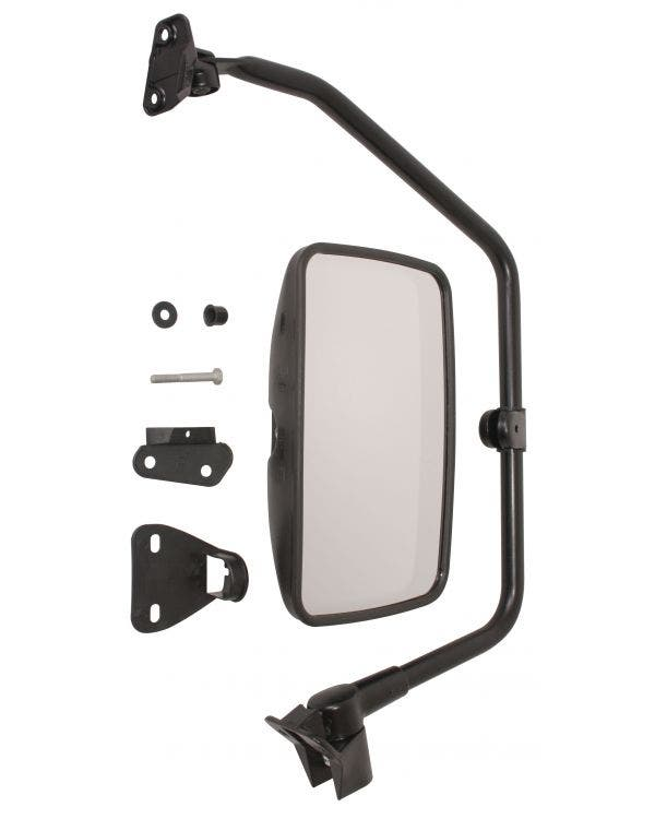 Truck Style Door Mirror with Convex Glass Right