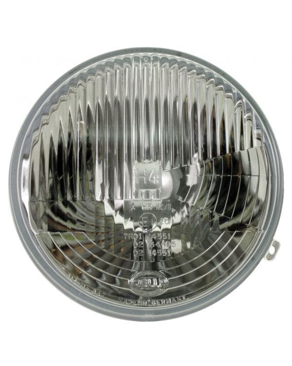 Round Headlight Unit for Left Hand Drive