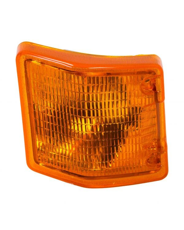 Front Indicator Unit with Amber Lens, Left