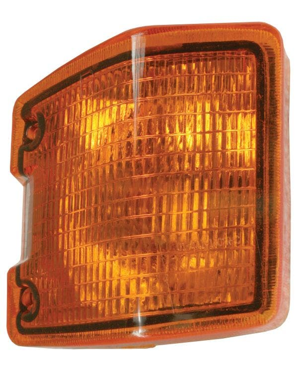 Front Indicator Unit with Amber Lens, Right