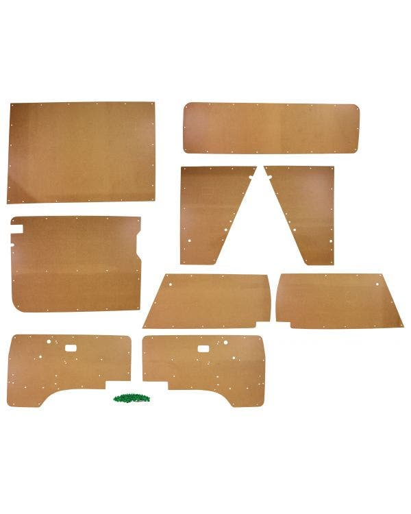 9 Piece Bare Interior Panel Kit for Right Hand Drive