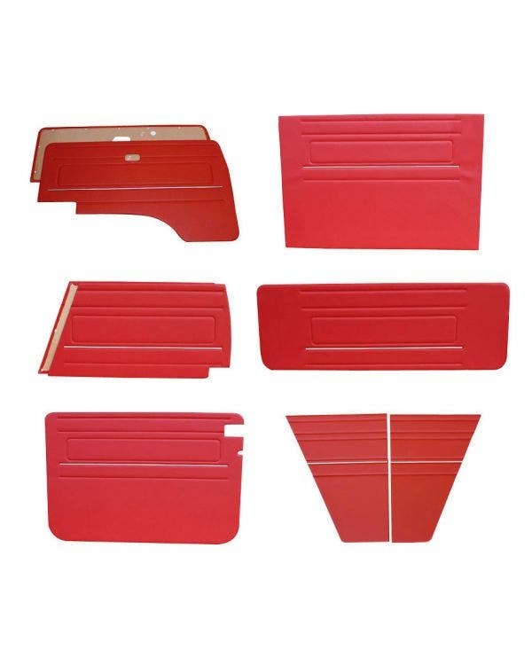 9 Piece Interior Panel Kit With chrome Trim for Right Hand Drive