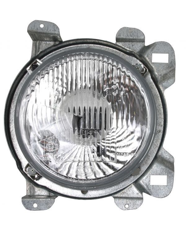 Headlight Assembly Round for Right Hand Drive Left
