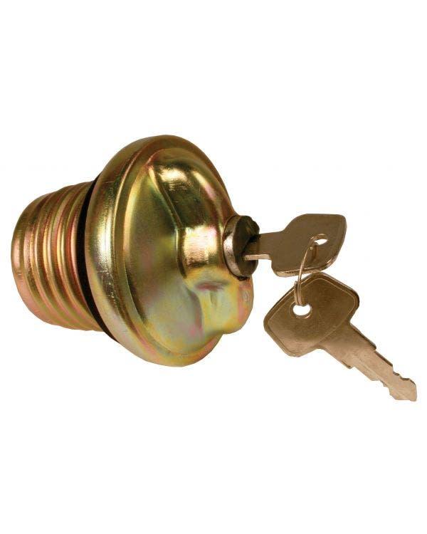 Tankdeckel, abschließbar, mit 2 Schlüsseln