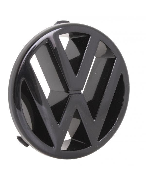Frontgrill, VW-Emblem, schwarz glänzend
