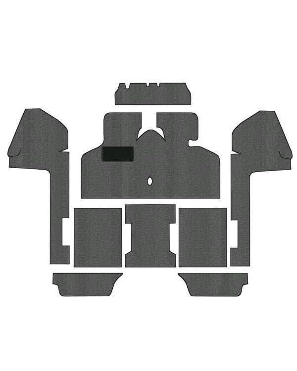 9-teiliges Teppichset, Linkslenker