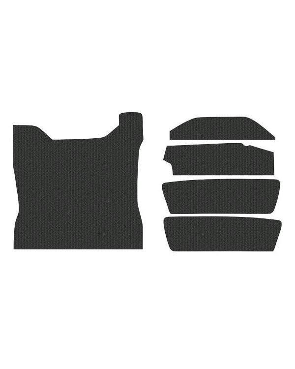 Teppichsatz, TMI, 5-teilig, passend für Kofferraumbereich