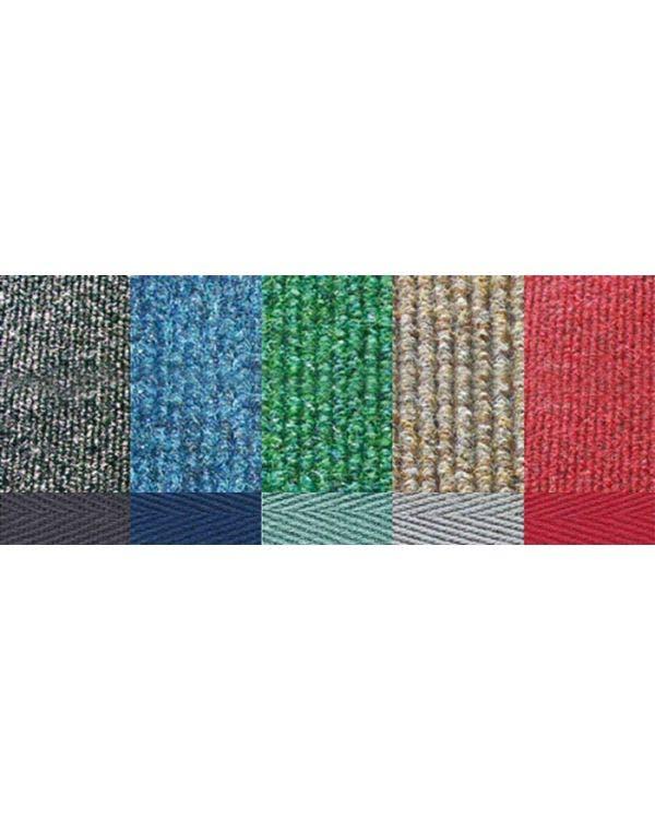 Teppich mit Reifenrillenmuster