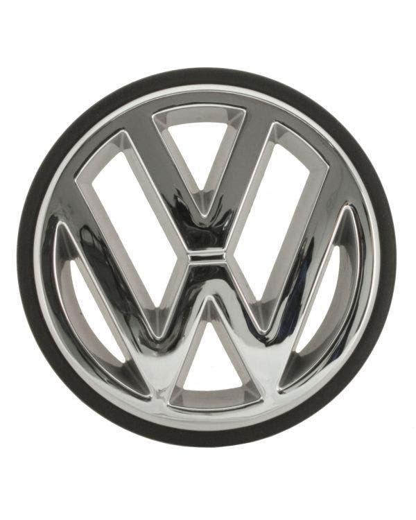 Front Grille VW Emblem Chrome