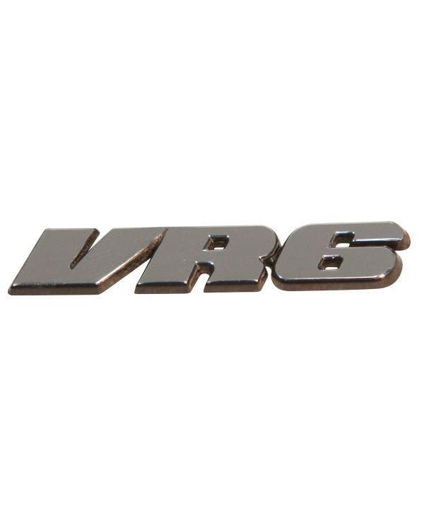 Rear Badge VR6 Inscription