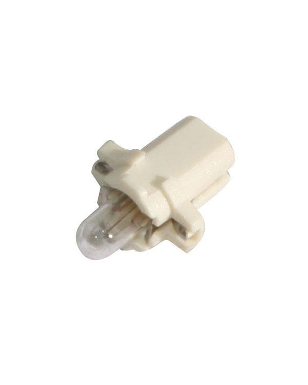 Dashboard Bulb & Holder with White Base