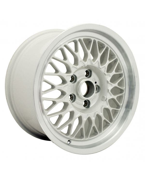 BBS Alloy Wheel, Audi V8, 8x16 ET35, 5/112, White