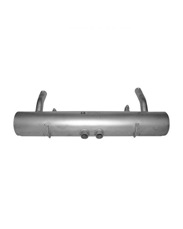 Exhaust Rear Silencer Stainless Steel