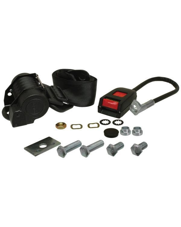 Front Seat Belt 3 Point Inertia with Modern Buckle