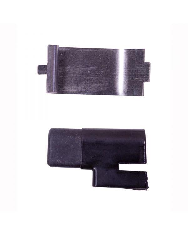 Fuel Filler Flap Stop Buffer and Leaf Spring