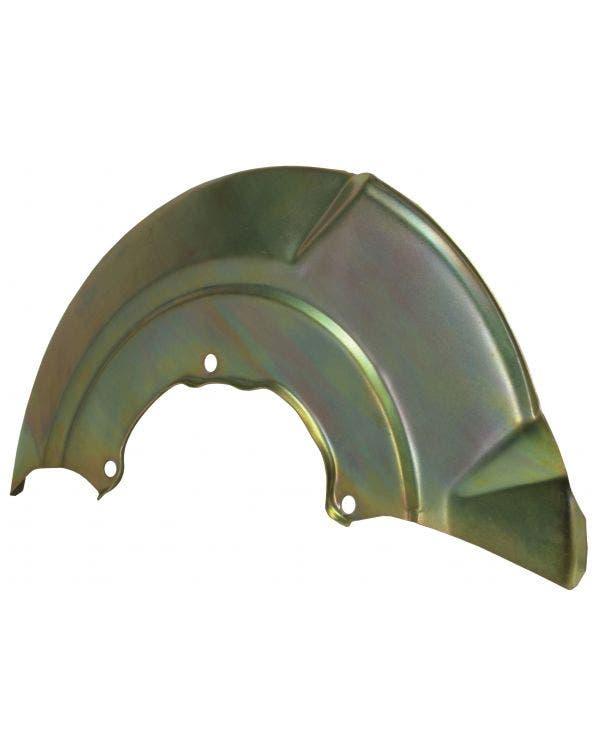 Brake Disc Backing Plate Front Left