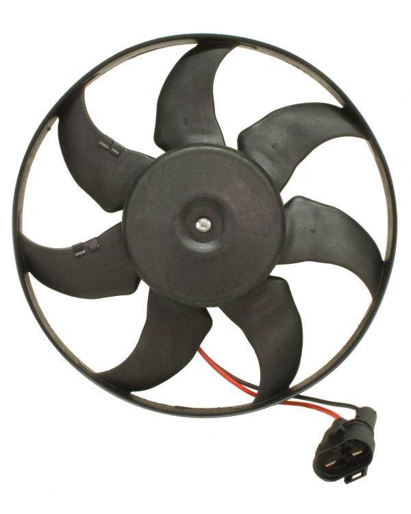 Ventilador del radiador con motor de 450 vatios, 345mm de diámetro
