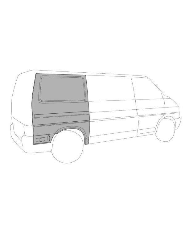 Complete Rear Quarter Panel Right for Left Hand Drive Short Wheel Base Model