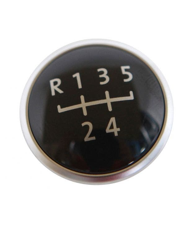 Gear knob Badge with the Gearshift Pattern for 5 Speed