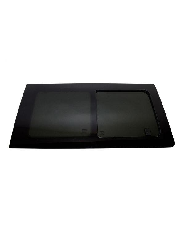 Tinted Sliding Side Window Middle Right for Short or Long Wheelbase