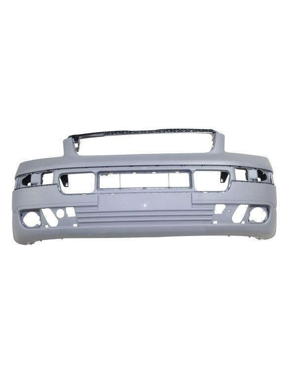 Front Bumper with Fog light Holes in Grey