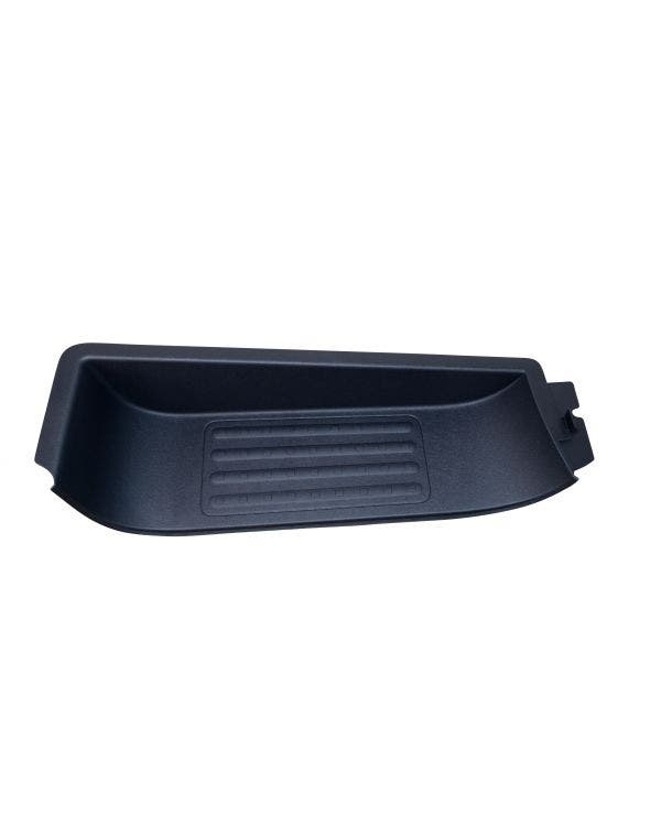 Plastic Cab Step in Black, Left