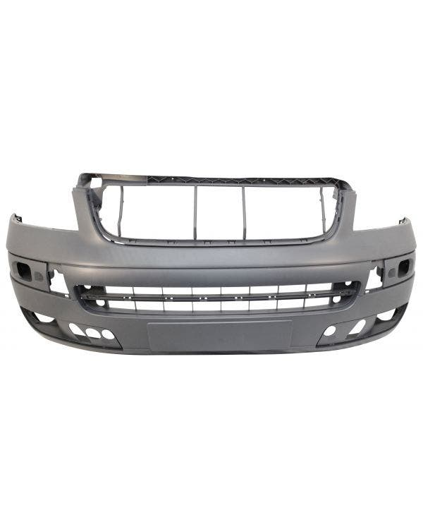 Front Bumper with Fog light Holes in Primer