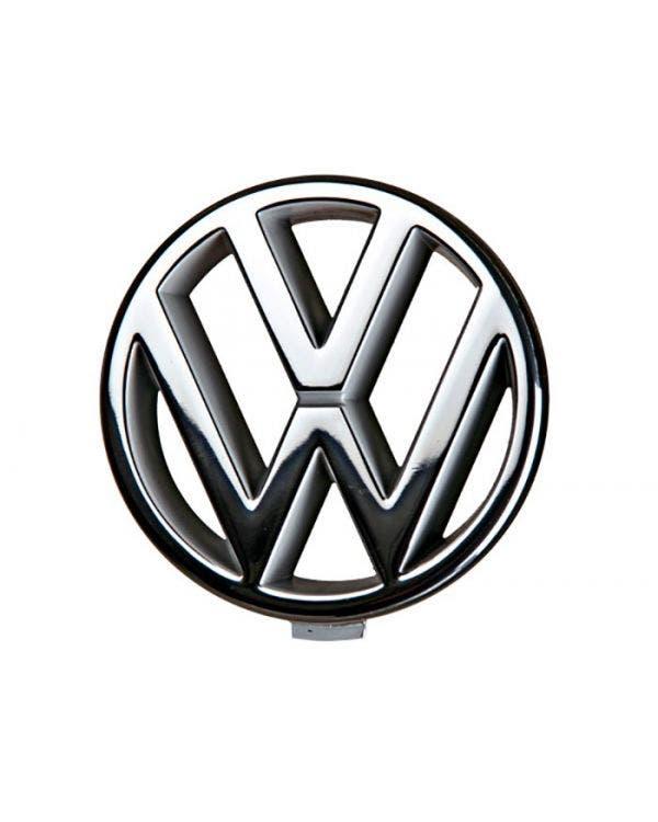 Emblema de VW delantero para modelos 86C en cromo