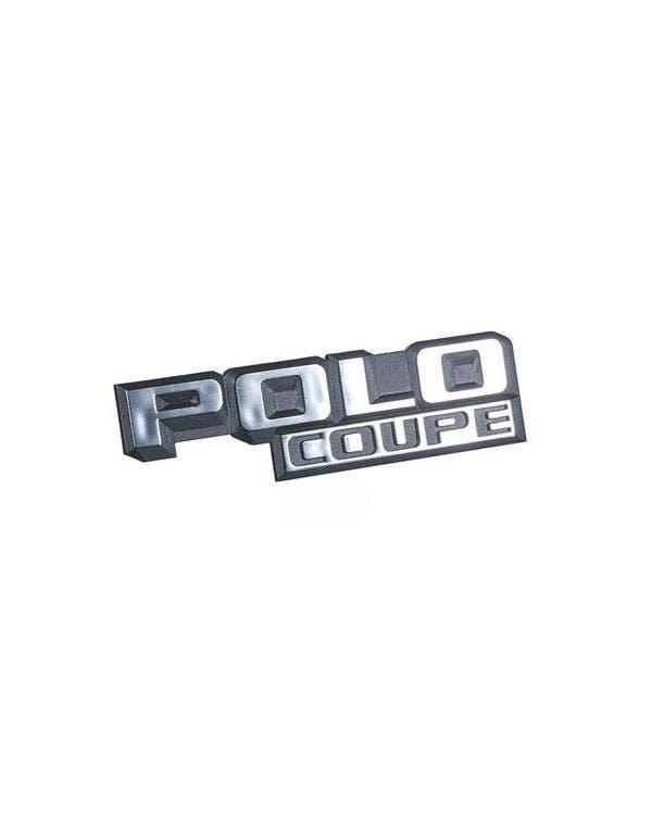Emblem, hinten, für Polo Coupe