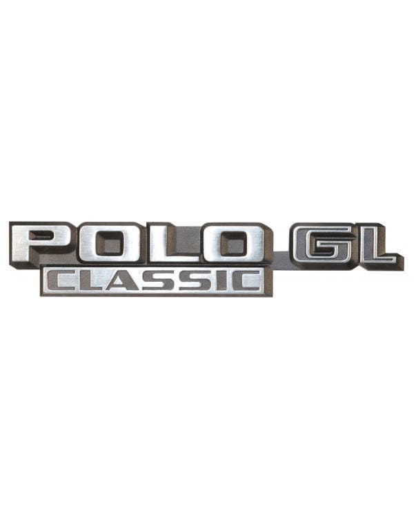 Insignia trasera - Polo GL Classic