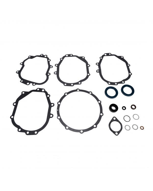Transmission Gasket Set, Manual with Chilled Aluminium Case