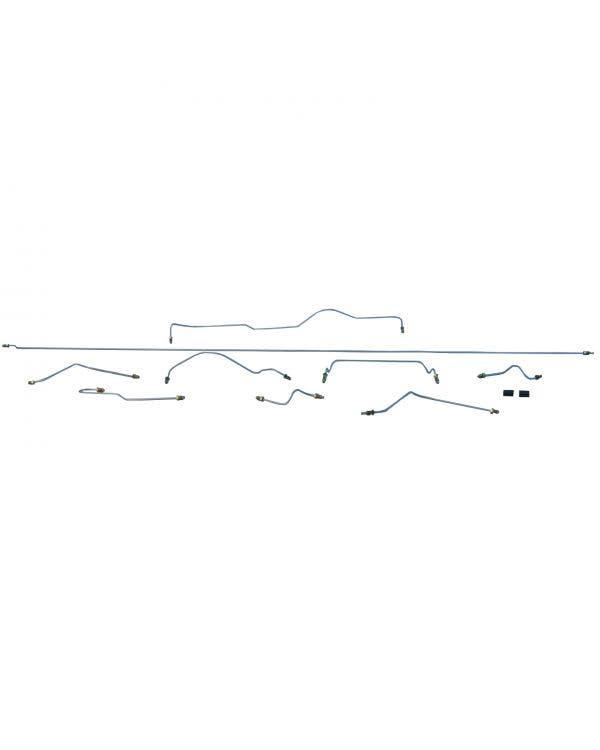 9 teiliges Bremsleitungskit, Linkslenker