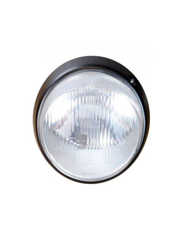 Headlight Complete with Black Rim Right Hand Drive Genuine