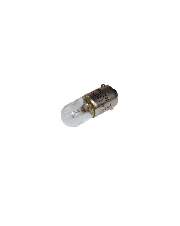 Bulb 12v 4w Single Clear Element with Bayonet Socket
