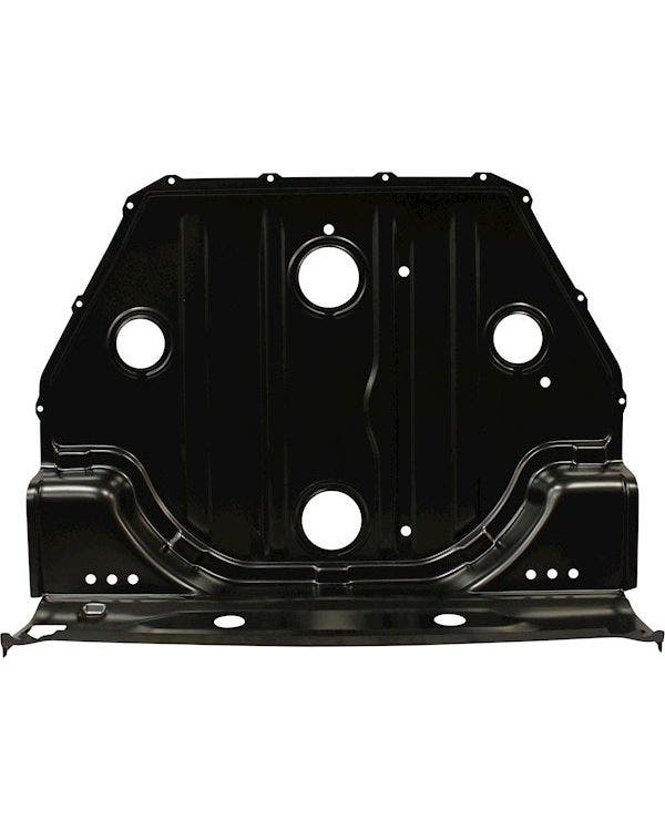 Spare Wheel Well without Crossmember