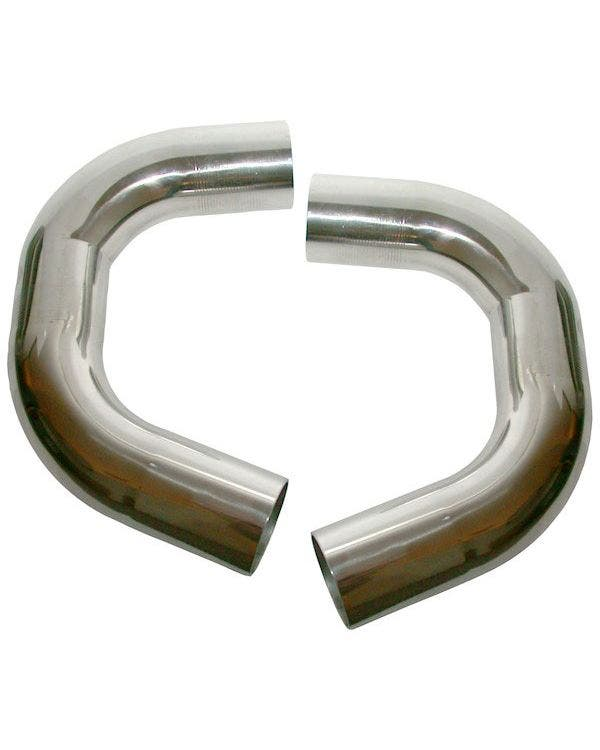 Exhaust Connecting U Pipe Set Stainless Steel