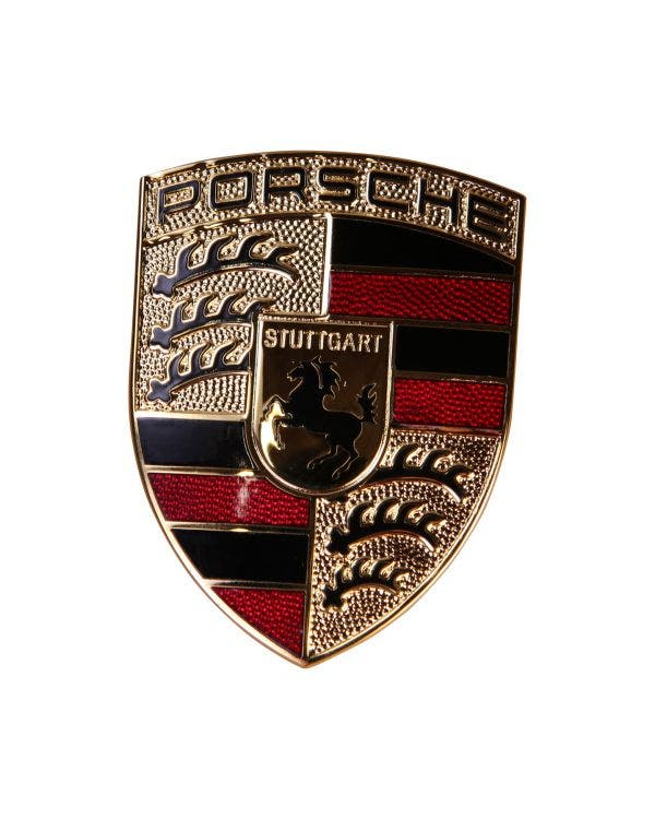 Bonnet Badge Porsche Crest