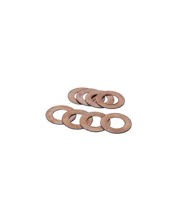 CB Performance Comp Eliminator Valve Shims 0.30'' Set of 8